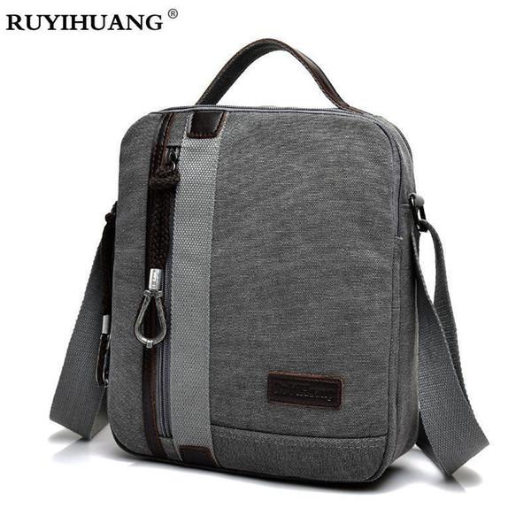 Nice Pop High Quality Mens Canvas Bags Casual Travel Bolas Masculina Mens Messenger Bag Crossbody Bag Shoulder Two Size