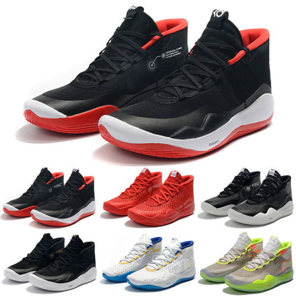 Acheter 2019 Hot Mvp Kevin Durant KD 12 Anniversaire Universitaire 12S XII Oreo Hommes Chaussures De Basketball USA Elite KD12 Sport Sneakers Taille 7