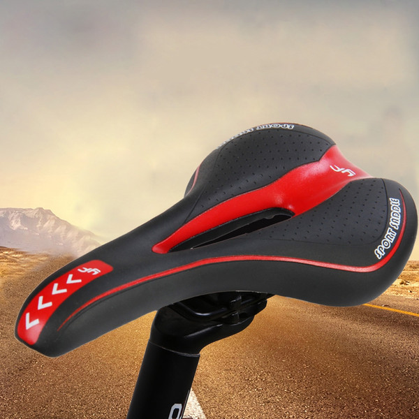 YAFEE Colorful Bicycle Mountain Road MTB Cushion Seat Saddle Sports Bike MTB Saddle Front Seat Cushion Riding Cycling Supplies +B