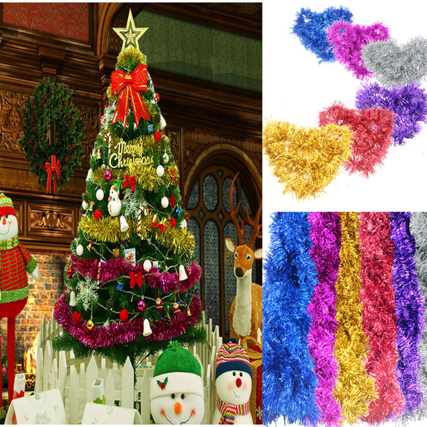 Christmas Tinsel Garland.2m6 5ft Luxury Deluxe Chunky Christmas Tinsel Garland Tree Decoration 9cm Wide Unique Christmas Decorations Unique Christmas Decorations For Sale From