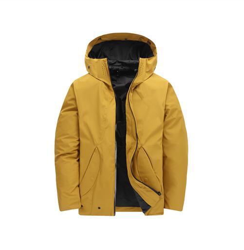 2019 Men Winter Jackets north Coats Warm Down Jacket Outdoor Hooded Men's face down Parkas 9157