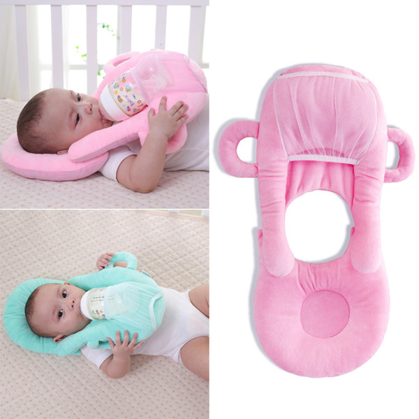 best selling Baby Infant Nursing U-shaped Pillow Newborn Baby Feeding Support Pillow Cushion Prevent Flat Head Pads Anti-spitting Milk