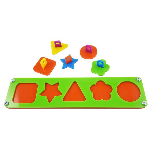 LanLan diverse forme Building Blocks dell'uccello del pappagallo educativo intelligente Toy Training