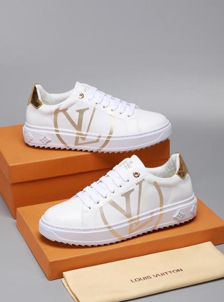 2019 yeni marka lüks özel erkek ve kadın rahat ayakkabı yüksek kaliteli çift ayakkabı deri moda spor ayakkabılar orijinal kutu ambalaj