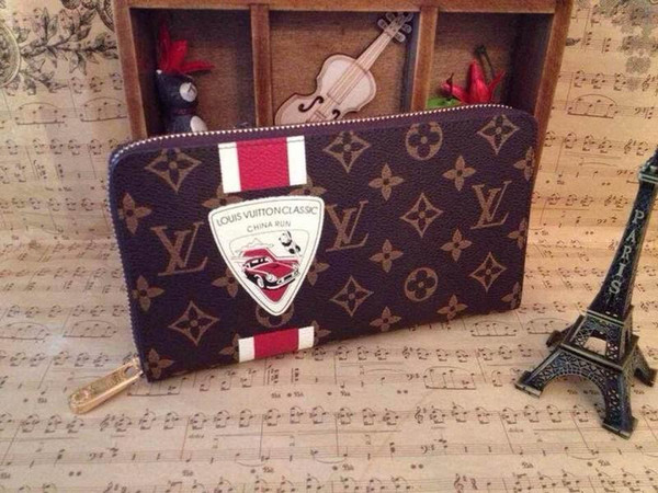 2019 M66552 Cartoon Doll Zipper Bag Women Clutch Wallets Purse Mini Clutches Exotics Evening Chain Belt Bags