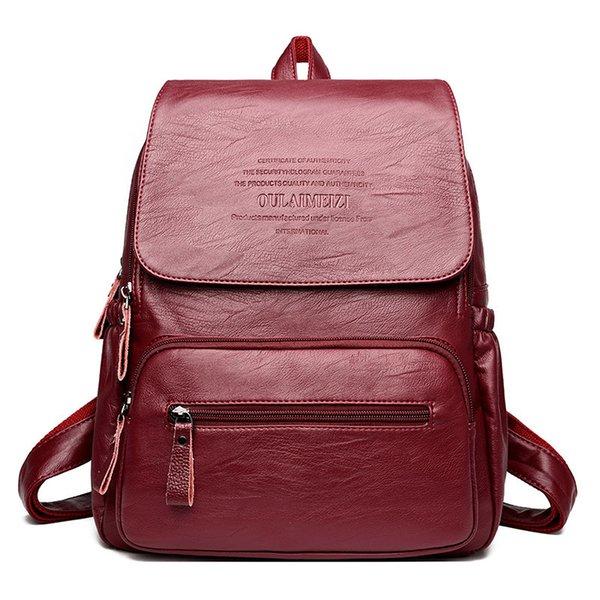 Winered backpack