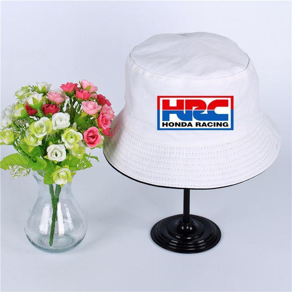 HRC Honda Racing Car Logo Cappello Donna Uomo Panama Cappello benna HRC Honda Car Racing Design piatto Visiera da sole Cappello pescatore da pesca