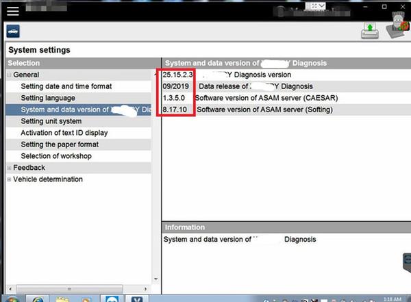 V09.2019 MB C5 / C4 xentry su disco rigido per MB star C6 / mb C4 / C5 hdd Icom A2 / icom accanto per scanner diagnostico auto bmW