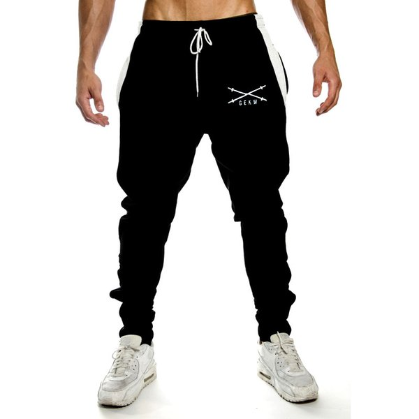 2019 New gym Muscle Brothers Fitness Summer New Sports Leisure Pants Air-permeable Quick-drying Pants Closure Guard Pants