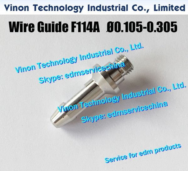 F114A Ø0.205 Wire Guide Upper A290-8104-Y705 for Fanuc Level Up(iD2),iE,0iC edm upper diamond guide d=0.205mm A2908104Y705,A290.8104.Y705
