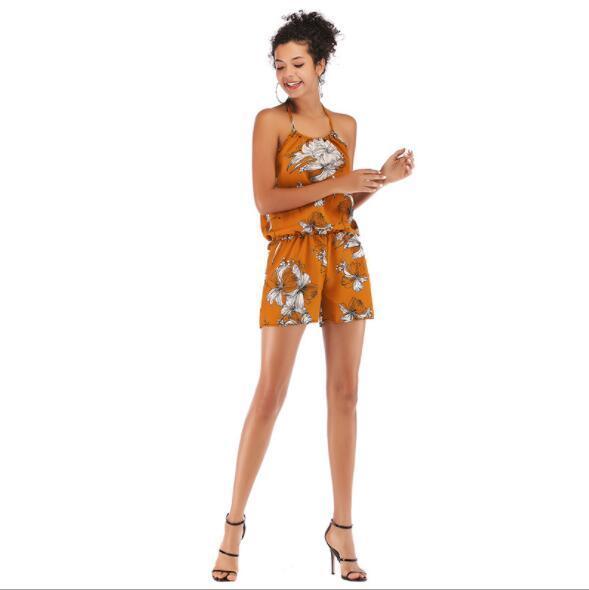 2019 été Tenues Designer pour les femmes barboteuses Mode Femmes Hauts Shorts Casaul Vêtements pour femmes M-XL gros