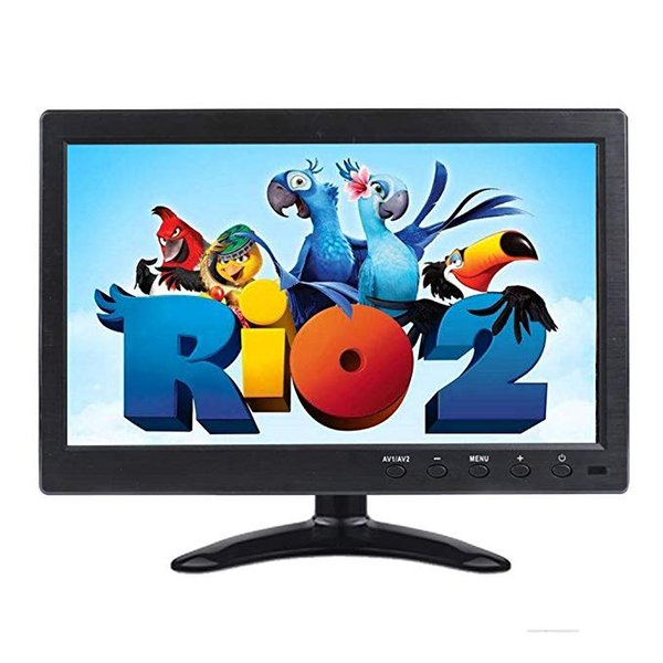 """10.1"""" Tablet LCD HD Monitor Computer Display Color Screen 2Channel Video Input Security Monitor with BNC / AVI / VGA HDMI"""