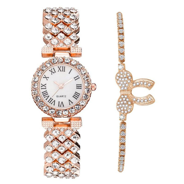 Rose Gold And Watch