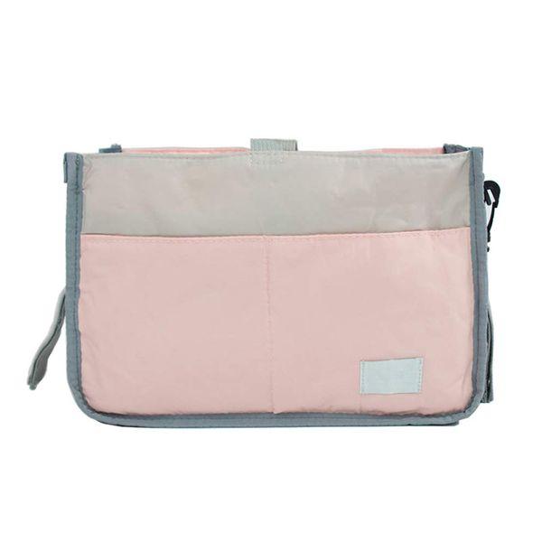 2 Paquetes Bolsa de pañales Organizador con inserciones Bolsa de bebé portátil para mamás con estilo Bolso multifunción Bolsa húmeda con hebilla