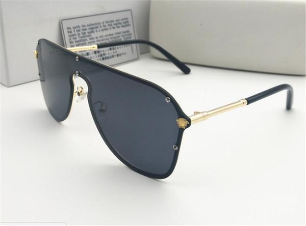 41361b5385 Moda de luxo uv 400 caixa original proteção itália marca designer de  corrente de ouro tyga