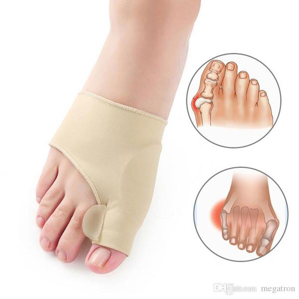 Большой костяной Ортопедические мозолей Correction Педикюр носки силиконовые вальгусной деформации Corrector Подтяжки Toes Сепаратор Feet Care Tool 1Pair = 2Pcs