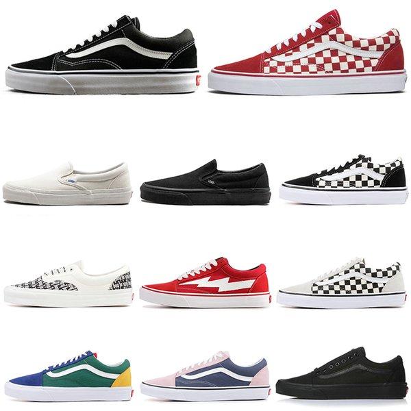 vans Minibüsler tasarımcı ayakkabı Otantik eski skool Tanrı Korkusu kanvas ayakkabılar kadın erkek casual sneakers espadrilles 36-44 vintage