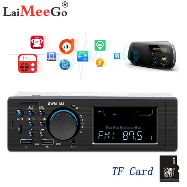Bluetooth FM AUX Mp3 Bluetooth Radio autoradio Autoradio 1 Din Auto Auto Audio modulatore centrale Multimedia Cassette