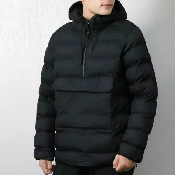 19FW Winter Brand Coats for Men High Quality Mens Designer Jackets Parkas with Letters Pattern Luxury Coat with Zipper Size M-2XL Available