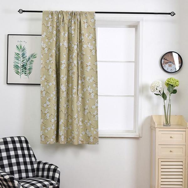Cortina opaca para persianas de tratamiento de ventanas Cortinas acabadas de la ventana Cortinas opacas para la sala de estar Dormitorio Persianas 140 * 140 cm DBC DH0900-8