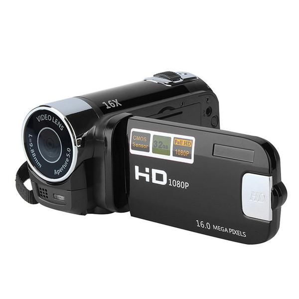 Mini portátil de 2.7 pulgadas Cámara de video digital Videocámara TFT Pantalla LCD Full HD 16x Zoom Cámara DV COMS Grabación de video COMS