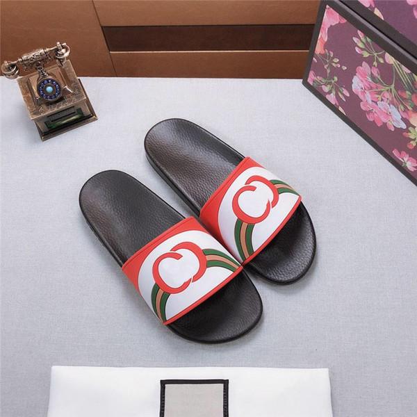 Créateur de mode Sandales pour Hommes Femmes Qualité Designer Diapositives Avec Boîte Designer Unisexe Flip Flops Haute Qualité À Vendre