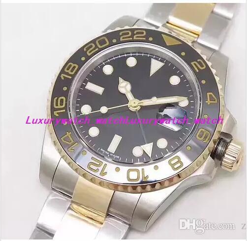 Роскошные часы Best Edition V7 18-каратное золото 40 мм GM T 116713LN Керамика ETA 3186 Механизм с автоподзаводом Date Diver Спортивные мужские часы