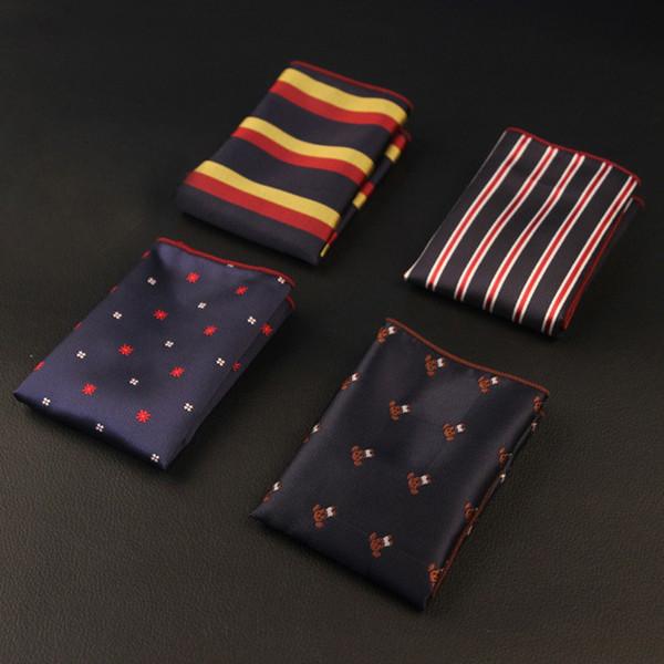 Venda quente padrão de negócios britânicos casamento terno dos homens toalha de bolso lenço vestido de tórax toalha fabricantes fornecer especiais
