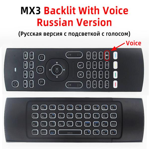 RU mic with backlit