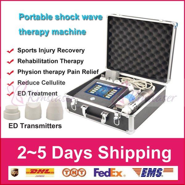 Extracorporeal Portable Thérapie par ondes de choc Acoustique par ondes de choc Thérapie Machine Soulagement de la douleur Enlèvement Arthrite Traitement Dispositif Appareil