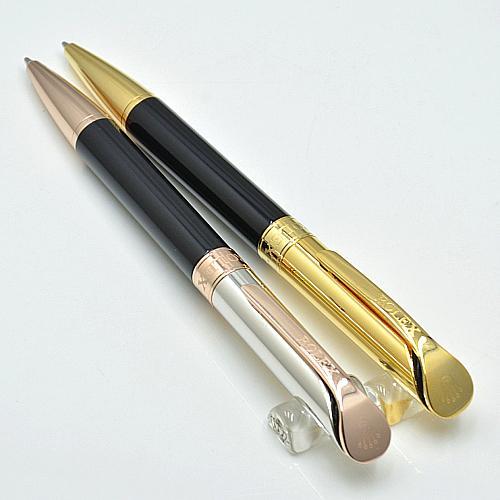 Акция-Высокое качество Rlx Брендинг Черная Смола Шариковая ручка Шариковая ручка Rx Канцелярские товары школьные принадлежности Бесплатная доставка