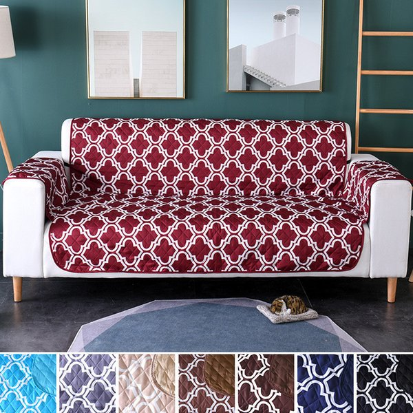 Fantastic Printing Pet Dog Kids Sofa Couch Cover Chair Mat Furniture Protector Reversible Washable Removable Armrest Slipcovers 1 2 3 Seat Designer Chair Covers Lamtechconsult Wood Chair Design Ideas Lamtechconsultcom