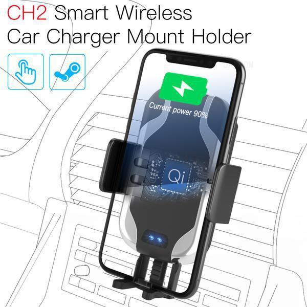 JAKCOM CH2 Supporto per caricabatterie per auto senza fili intelligente Vendita calda nei supporti di montaggio per telefoni cellulari come supporto per moto mobile per copertura mobile