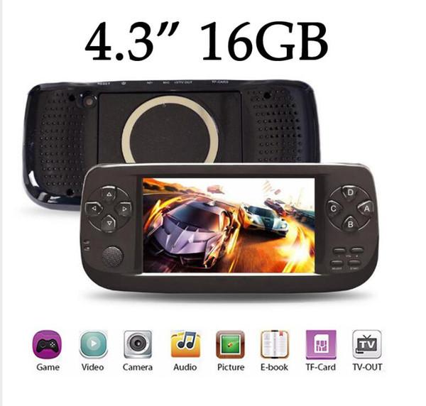 16 Go PAP K3 Gameta II Consoles de jeu portables Portable 64 bits rétro Jeux Lecteurs 16GB Support TV MP3 MP4 MP5 Caméra