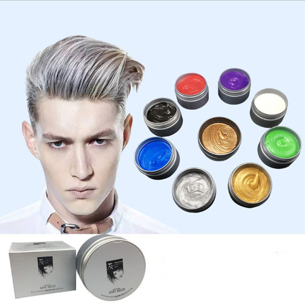 best selling NEW hot ASH hair wax for hair styling Mofajang Pomade Strong style restoring Pomade wax slicked 96pcs A Carton Free DHL Shipping