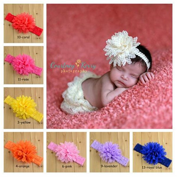 Lace Headbands Children Hair Accessories Kids Flower Headband Hair Things Baby Hair Accessories Childrens Accessories FJ392