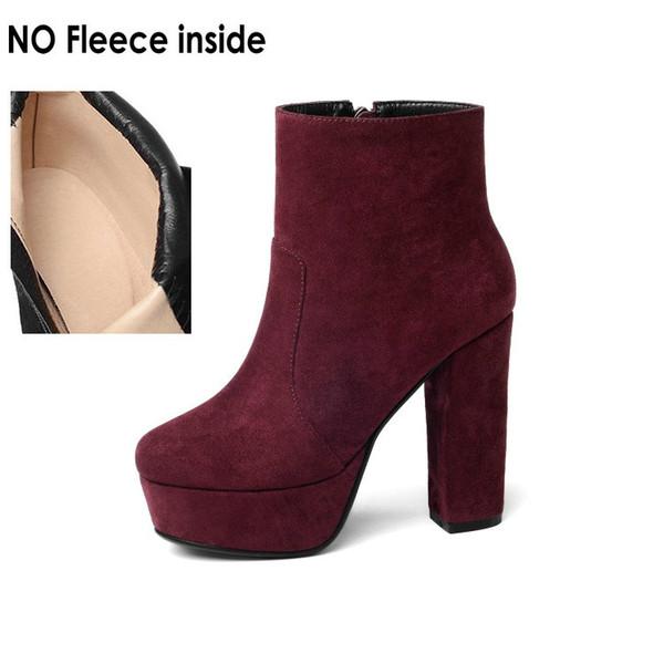 burgundy-no fleece