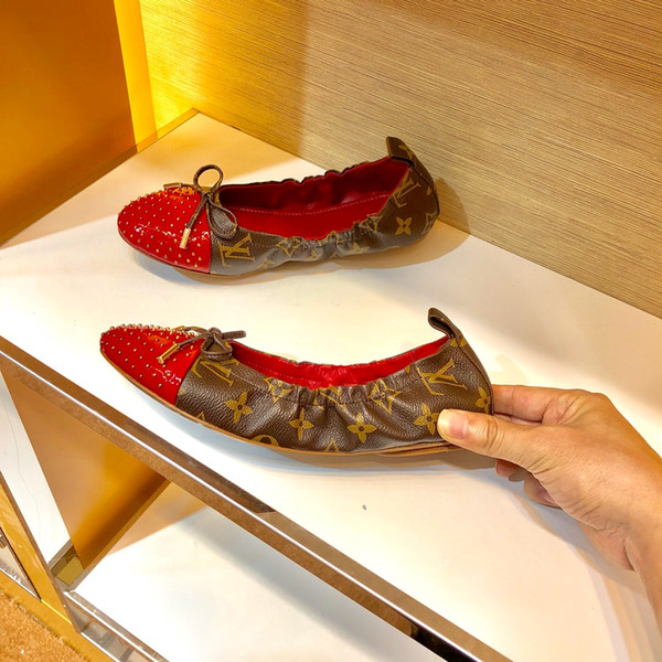 Leopard Brand Luxury dress Shoes Women Flats Square Toe Slip On Loafers Ladies Shoes Japanese Fashion Plus Size Designer Women Shoes