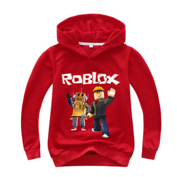 Roblox Open Sweater New Kids Roblox Red Nose Day Pullover Hooded Sweatshirt Boys Girls Autumn Cotton T Shirt Fashion Cartoon Tops 2 14y Winter Boys Jackets Childrens Rain Jackets From Azxt51888 9 03 Dhgate Com