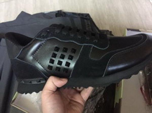 Größe 35-46 Frauen / Männer Freizeitschuhe Tarnung aus echtem Leder schnüren Paar Stern Schuhe Unisex Nieten flache Schuhe 11