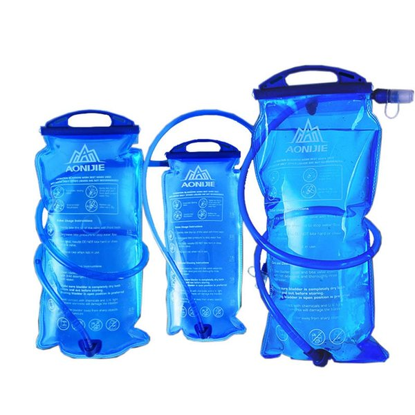 Открытый бутылка воды мешок 1L/1.5 L/ 2L/3L гидратации Camelback тактический рюкзак воды мешок для кемпинга пешие прогулки Велоспорт YS-