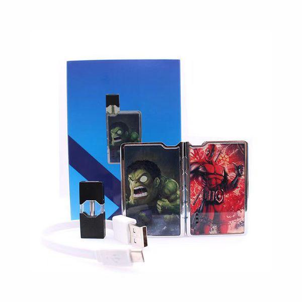 100% Original-X320 Kit Oil Kits E-Zigarette Kits mit 350mAh Batterie mit 0,7 ml Öl Patrone Keramikkern High Quality