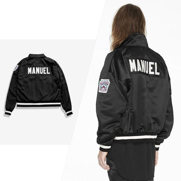 19ss New Jacket Justin Bieber Fear God Jackets Men Women High Quality MANUEL Casual Fashion Jacket Free Shipping FOG Coats S-XL