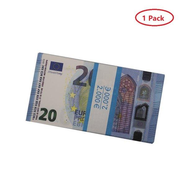 euro 20 (1pack 100pcs)