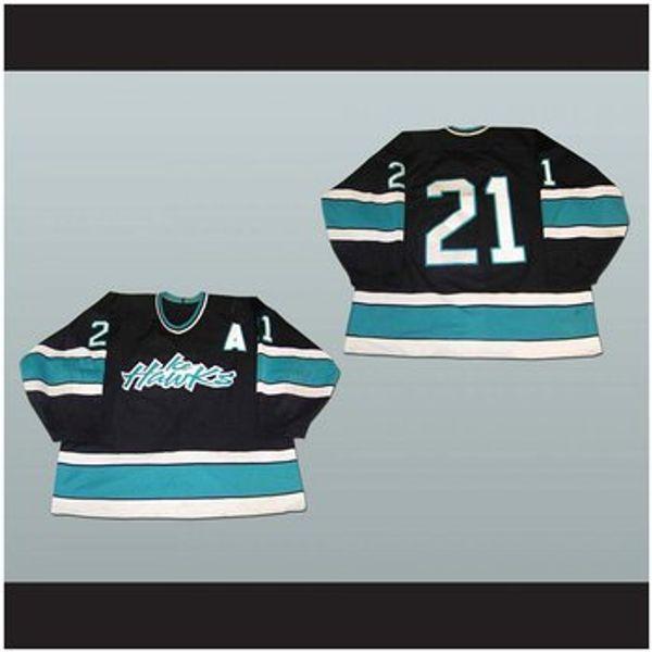 Das XS-5XL Bellingham-Eis-Falken-Hockey-Jersey der kundenspezifischen Männer nähte irgendeinen Spieler oder irgendeine Zahl Freies Verschiffen