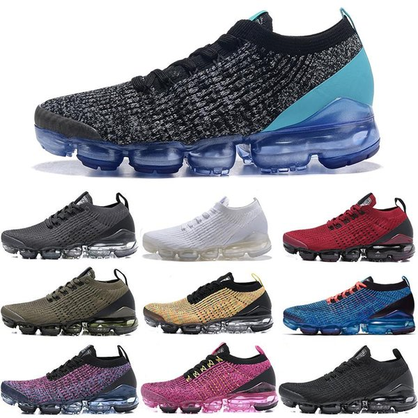 Nuevo 2019 Designer Cushion hombres Mujeres Zapatos para correr VPM 3.0 Triple Black White South Beach Blue Fury Trainers Chaussures designer Sneaker