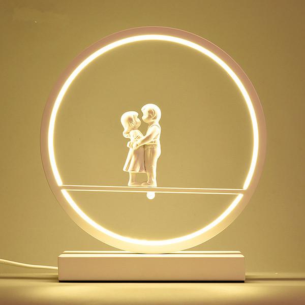 Acquista JESS LED Coppie Lampade Da Tavolo Comodino Camera Da Letto ...