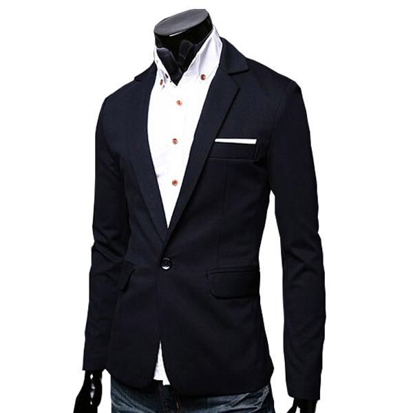 2015 New Arrivals blazer men blazer masculino man fashion slim 5 Colors Size M-2XL
