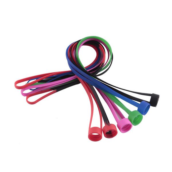 Silicone Lanyard con Vape Band O Rings Collar de silicona vape String para EVIC EGO ONE I JUST SUBVOD Target Mini kit