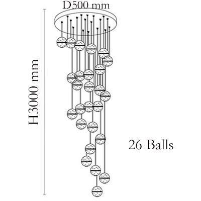 26 헤드 Dia50cm 원베이스